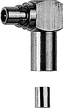 MMCX Angle Plug Crimp