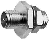 R-SMA Bulkhead Adaptor to UMTC (U.FL)