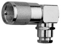 UHF Angle Plug