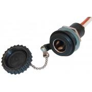 DIN Built-in socket, water proof 16A