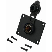 DIN-Standard Built-in Socket with mountaing plate with protective cap