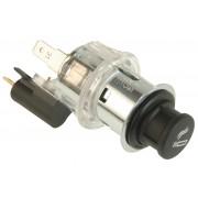 12 V, small knob, clamp sleeve clear