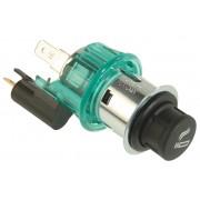 12 V, small knob, clamp sleeve green