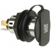 12-24 V, screw thread black