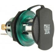 12-24 V, screw thread green